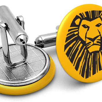 Lion King Musical Cufflinks