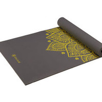 Citron Sundial Yoga Mat (5mm) - Gaiam