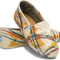 Tyler Ramsey Hand Painted Natural Women's Classics | TOMS.com