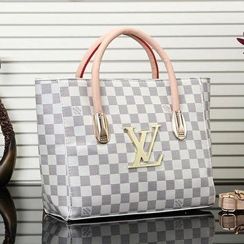 LV Louis Vuitton Newest Fashionable Women Shopping Bag Leather Handbag Tote Shoulder Bag Crossbody Satchel