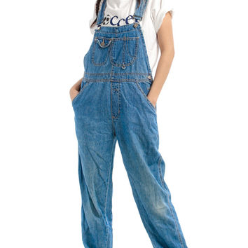 Vintage 90's Go For It Overalls - XS/S
