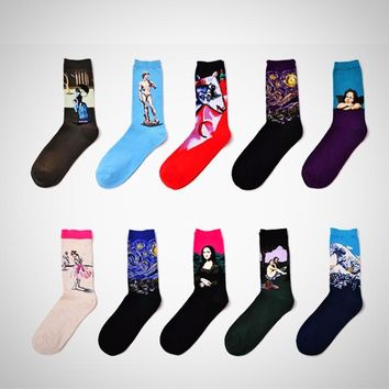 Retro Art Series Socks - 21 styles