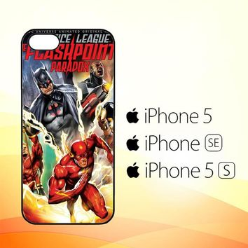 The Justice League The Flash X0196  iPhone 5|5S|SE Case