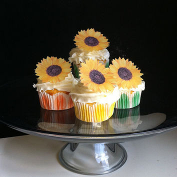 The Original EDIBLE Sunflowers - Cake & Cupcake toppers - Food Accessories