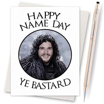 Birthday Card Boyfriend Gift Game Of Thrones Fo