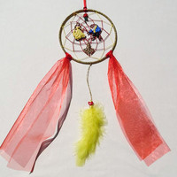 Disney Beauty and the Beast inspired dreamcatcher