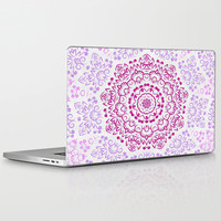 A Glittering Colorful Mandala 2 Laptop & iPad Skin by Octavia Soldani | Society6