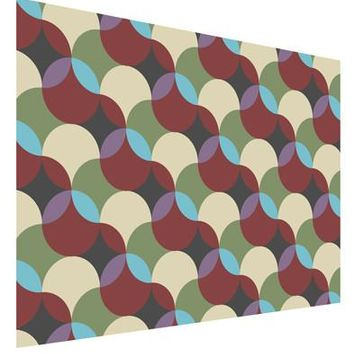 Geometric Abstract AOP Matte Poster Print Landscape - Choose Size by TooLoud
