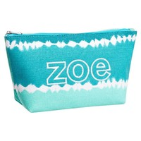 Surf Swell Beauty Pouch, Cool Tie-Dye Stripe