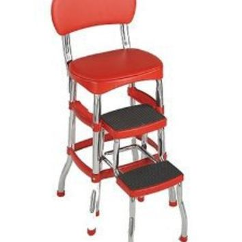 Cosco 11120red1 Retro Chair Step Stool From Amazon Retro