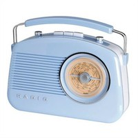Retro Radio SIXTIES azul