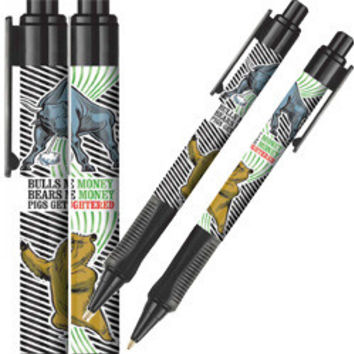 Bulls & Bears Make Money Pen