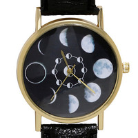 Blackheart Moon Phases Watch