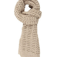 Crocheted Knit Scarf