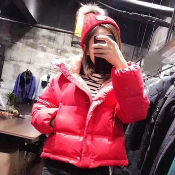 DCCKNQ2 Moncler Women Fashion Down Coat Cardigan Jacket-1