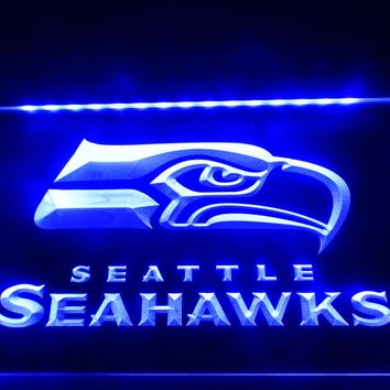 LD242- Seattle Seahawks Bar Pub   LED Neon Light Sign  home decor  crafts