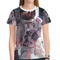 Apollo-11 New All Over Print T-shirt for Women (Model T45) | ID: D2145600