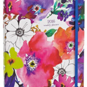 2016 Weekly Planner 7x9 Graphic Garden Flexi Engagement Calendar