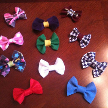 SALE Adorable Felt Hairbows