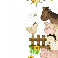 Farm Nursery Decor Barnyard Animals Decal Door Wall Art Mural [1040] - $20.00 : DeCamp Studios, The best selection of nursery wall murals, childrens wallpaper border, teen girl or boy wall art decals, baby premade scrapbook pages, and digital printable cli
