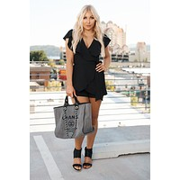 Timeless Fashion Romper (Black)