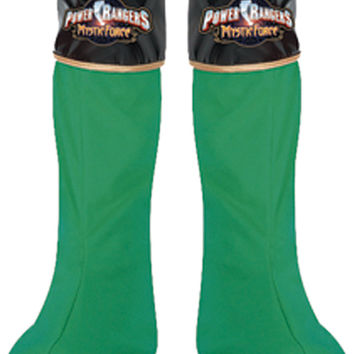 costume shoes: power ranger green boot covers Case of 3