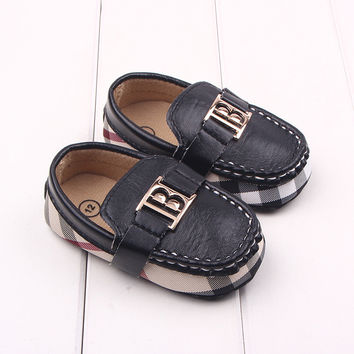 Burberry Inspired Boys Loafers