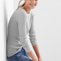 Ribbed boatneck pullover | Gap
