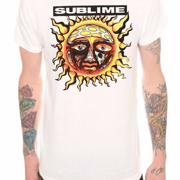 SUBLIME SUN LOGO -LBC- T-Shirt NWT Rock Band 100% Authentic & Official