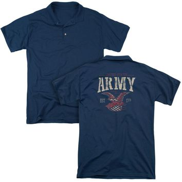 Army - Arch (Back Print) Mens Regular Fit Polo