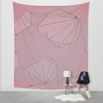 Shapes Shifted Wall Tapestry by Ducky B