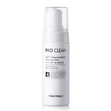 Pro Clean Soft Whipping Bubble Cleansing Foam