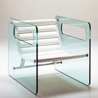 Tonelli Naked Glass Chair by Giovanni Tommaso Garattoni