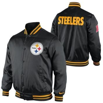 Nike Pittsburgh Steelers Start Again Jacket - Black