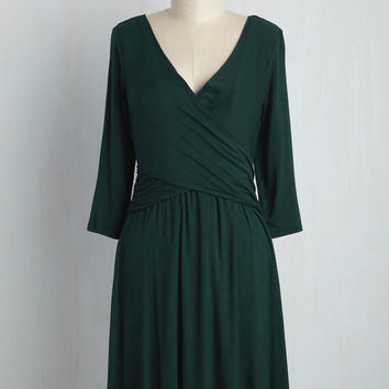 Takes You to Tango Jersey Dress | Mod Retro Vintage Dresses | ModCloth.com