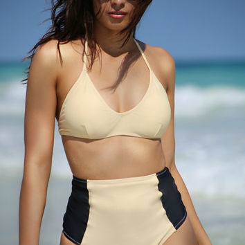 Hampton High Waist Swimsuit Bottom