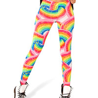 Rainbow Print Leggings