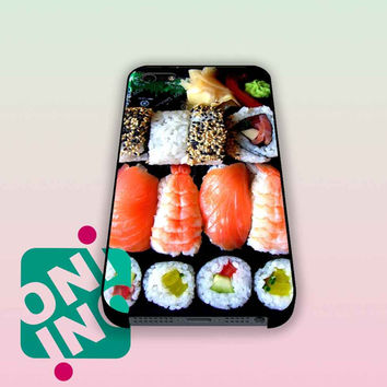 Funny Sushi Box iPhone Case Cover | iPhone 4s | iPhone 5s | iPhone 5c | iPhone 6 | iPhone 6 Plus | Samsung Galaxy S3 | Samsung Galaxy S4 | Samsung Galaxy S5