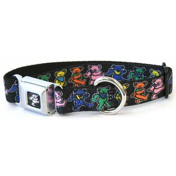 DCCKJY1 Grateful Dead - Dancing Bears Dog Collar