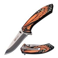 Butterfly Wing Knife- Orange