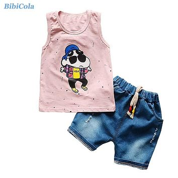 Baby Clothes Children's Sports Suits Kids Boys Clothes Sets Summer Cartoon Clothes For Kids Toddler Boys Clothing Sets