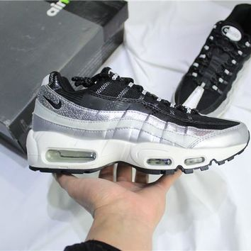 Air Max 95 Black/Silver Sneaker Shoe