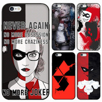 Suicide Squad Girl Lady Women Female 3D Relief Print Harley Quinn Design Case