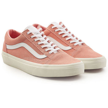 Old Skool Suede Sneakers with Leather - Vans | WOMEN | US STYLEBOP.COM