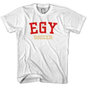 Egypt EGY Soccer Country Code T-shirt-Adult