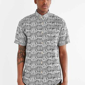 Globe Kulama Button-Down Shirt- Black & White