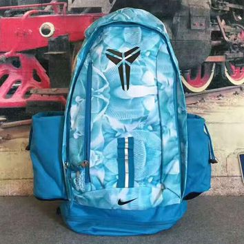 NIKE NBA Kobe Large capacity backpack Travel Bags blue H-PSXY