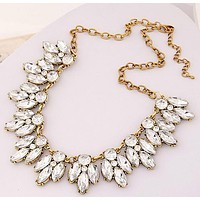 Star Jewelry Sale 2016 New Arrival Vintage Jewelry Pearl Flower Chokers Necklace Necklaces & Pendants  Woman Gift