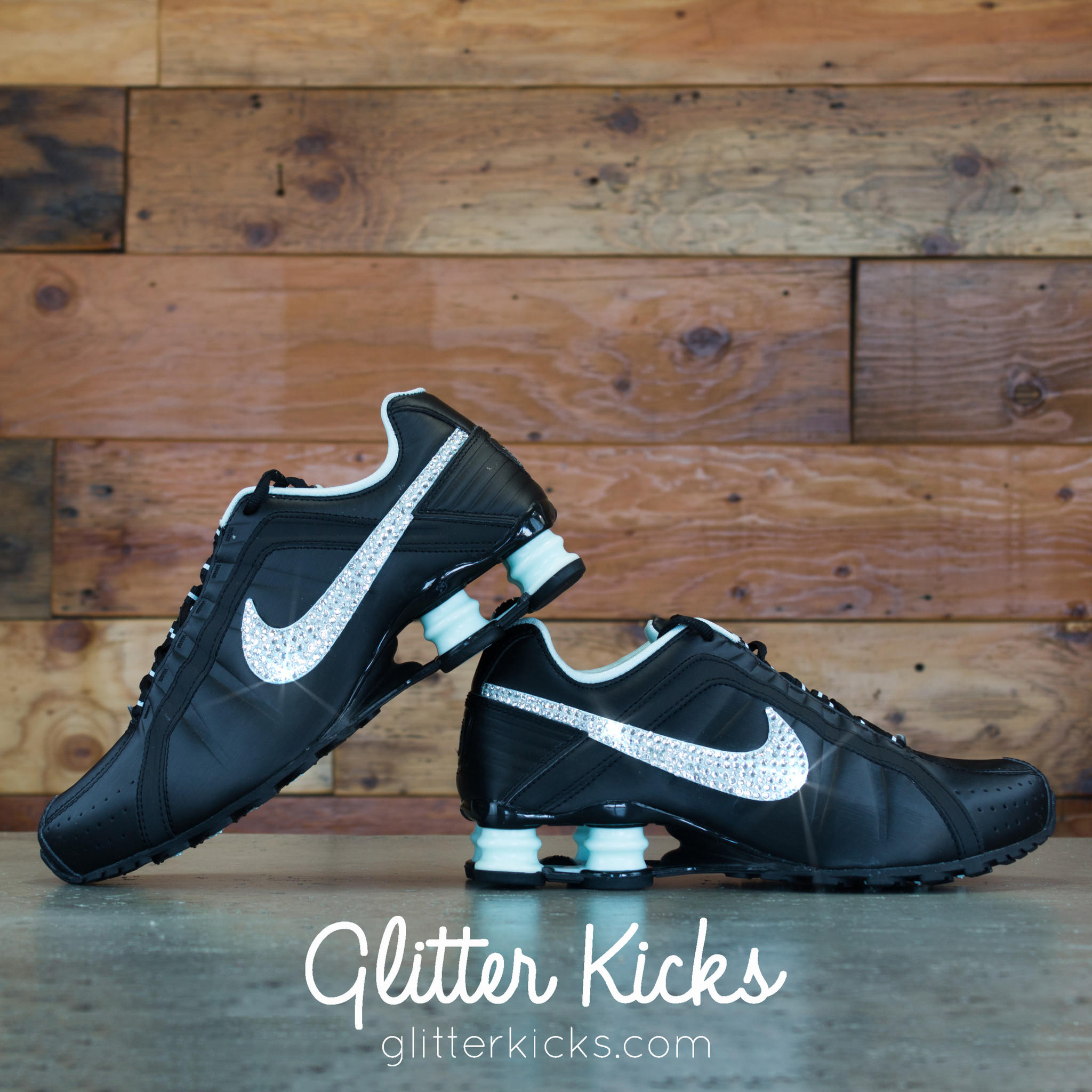 Nike Shox Current Glitter Kicks Running from Glitter Kicks 9209ddbeef