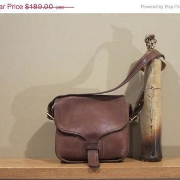 ONETOW ON SALE Rare New York City Coach Brown Leatherware Courier Bag Pouch Purse Tote Messen